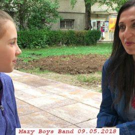 Интервю с Мария Мутафчиева (Мери Бойс Бенд)