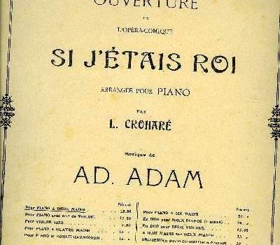 Ако бях цар – Адолф Адам