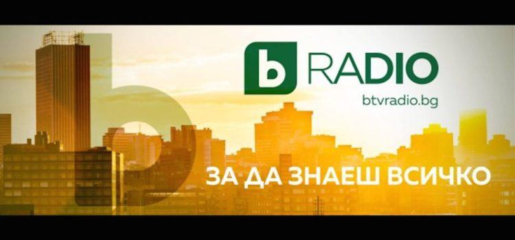 Интервю за bTV радио 24 март 2020